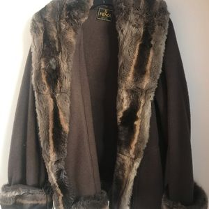 90538d82796e Beautiful Vintage FENDI Mink Fur Coat size M